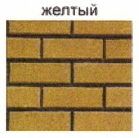 стеновые камни желтый