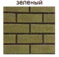 стеновые камни зеленый