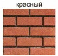 стеновые камни красный