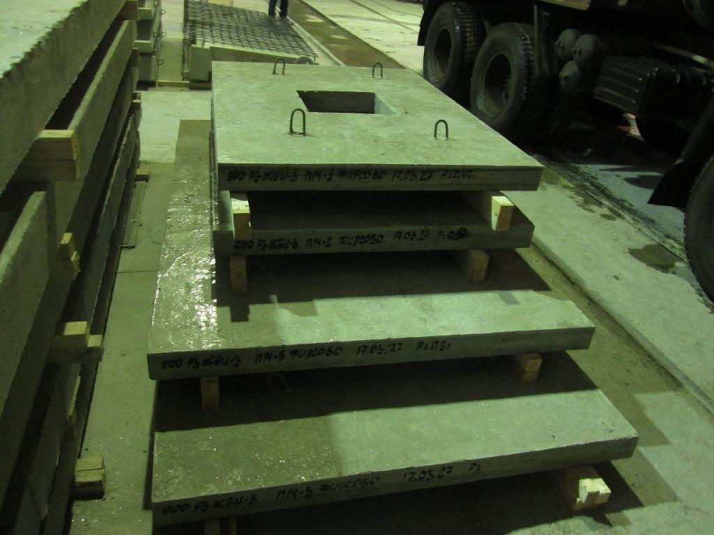 плиты шахты лифта