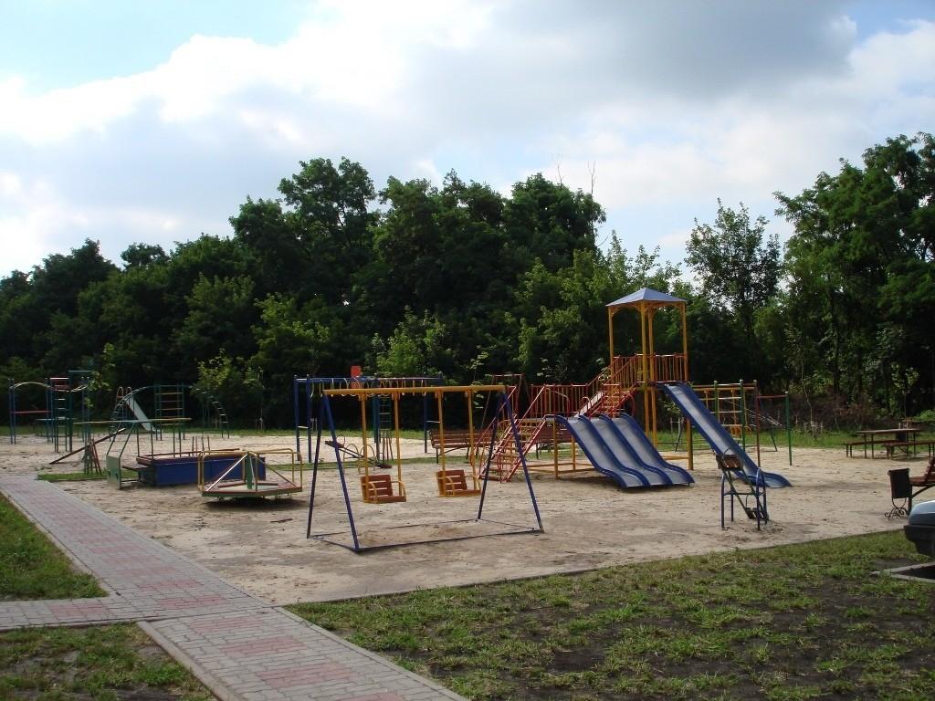 современные детские площадки
