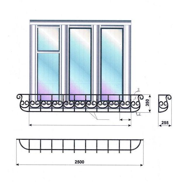 французский балкон95.020