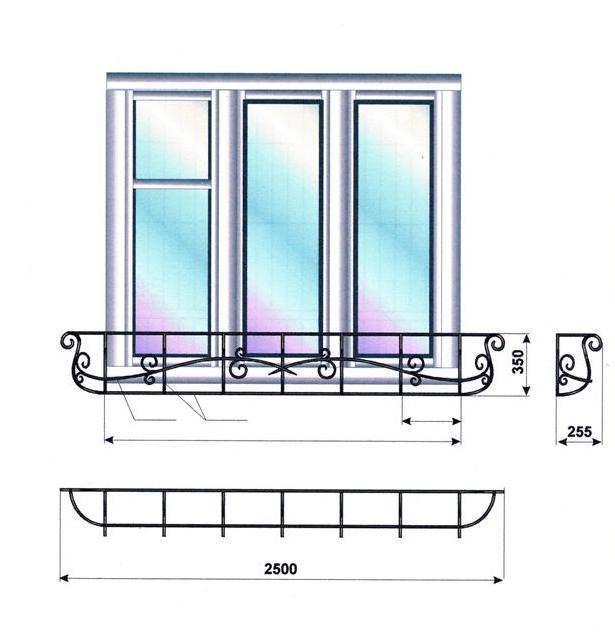 французский балкон95.022