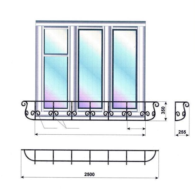 французский балкон95.023