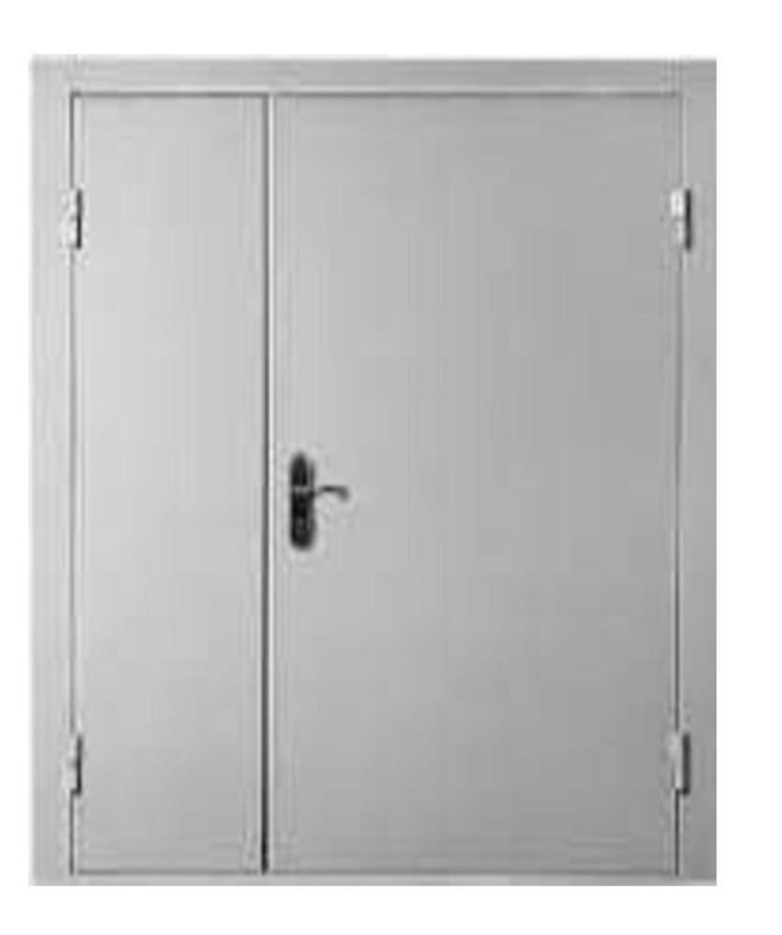 двери противоподарные двуполочные