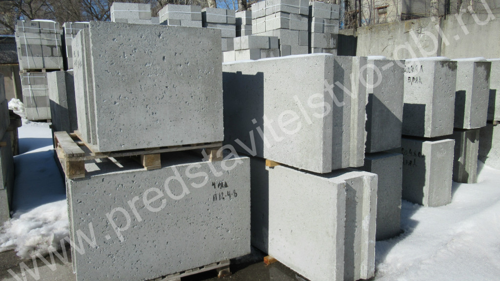 блоки полистиролбетонные