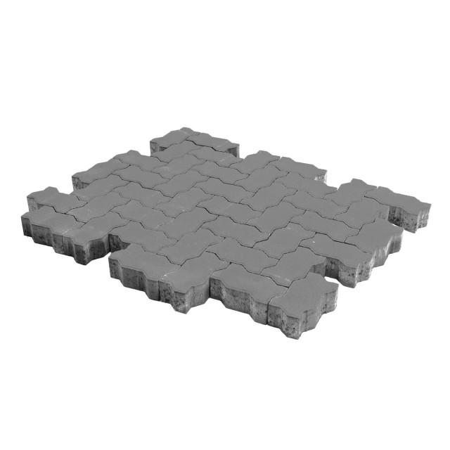 Тротуарная плитка Волна серый