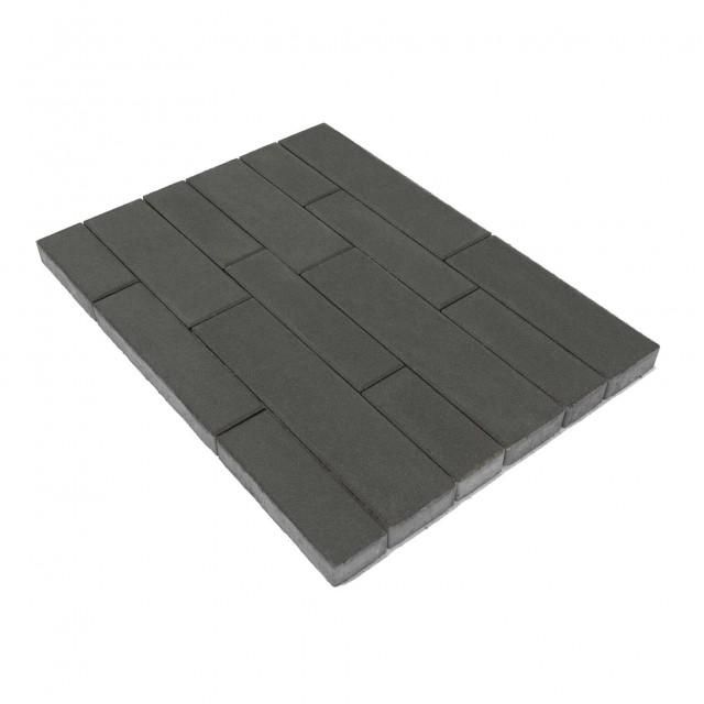 Тротуарная плитка Домино Серый