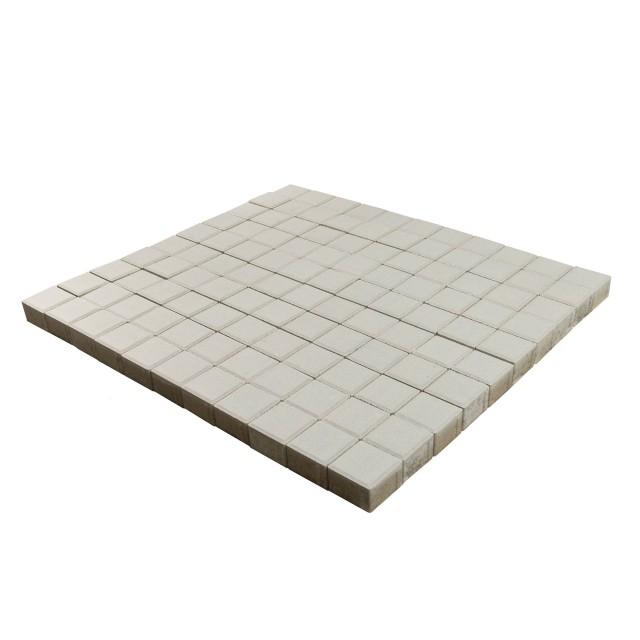 Тротуарная плитка Лувр белый