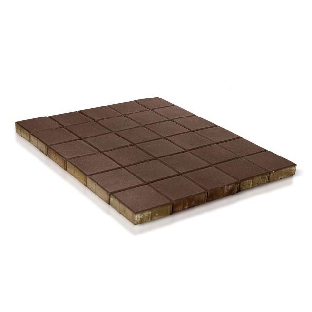 Тротуарная плитка Лувр коричневый