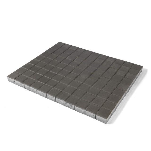 Тротуарная плитка Лувр серый