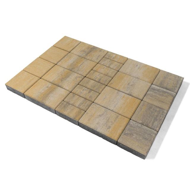 Тротуарная плитка Мозаика песчанник