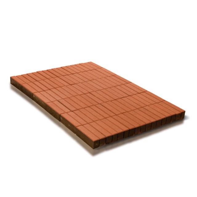 Тротуарная плитка Прямоугольник оранжевый