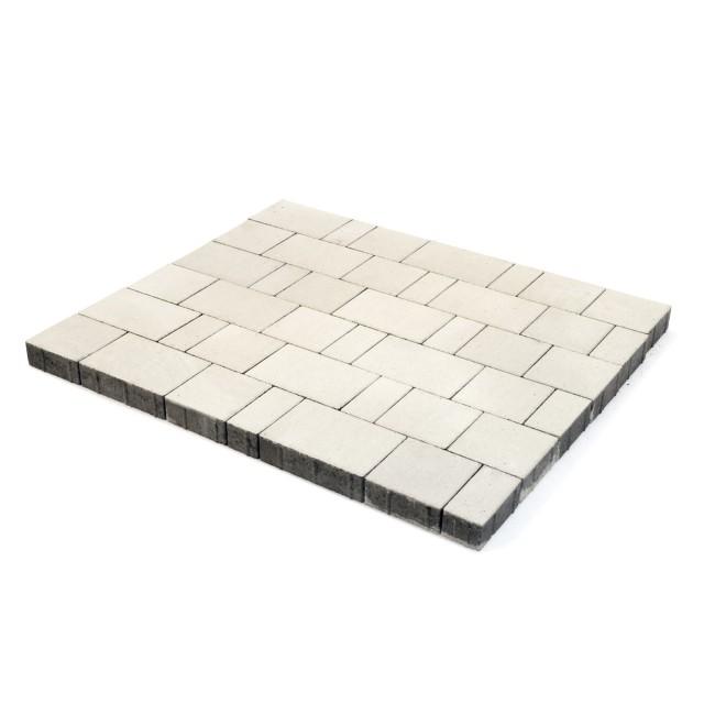 Тротуарная плитка Ландхаус белый