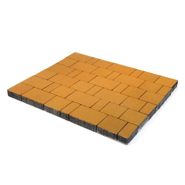 Тротуарная плитка Ландхаус оранжевый