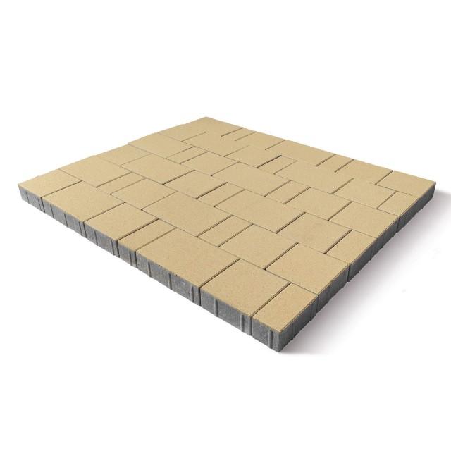 Тротуарная плитка Ландхаус песочный