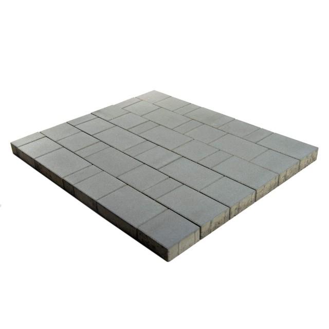 Тротуарная плитка Ландхаус серый