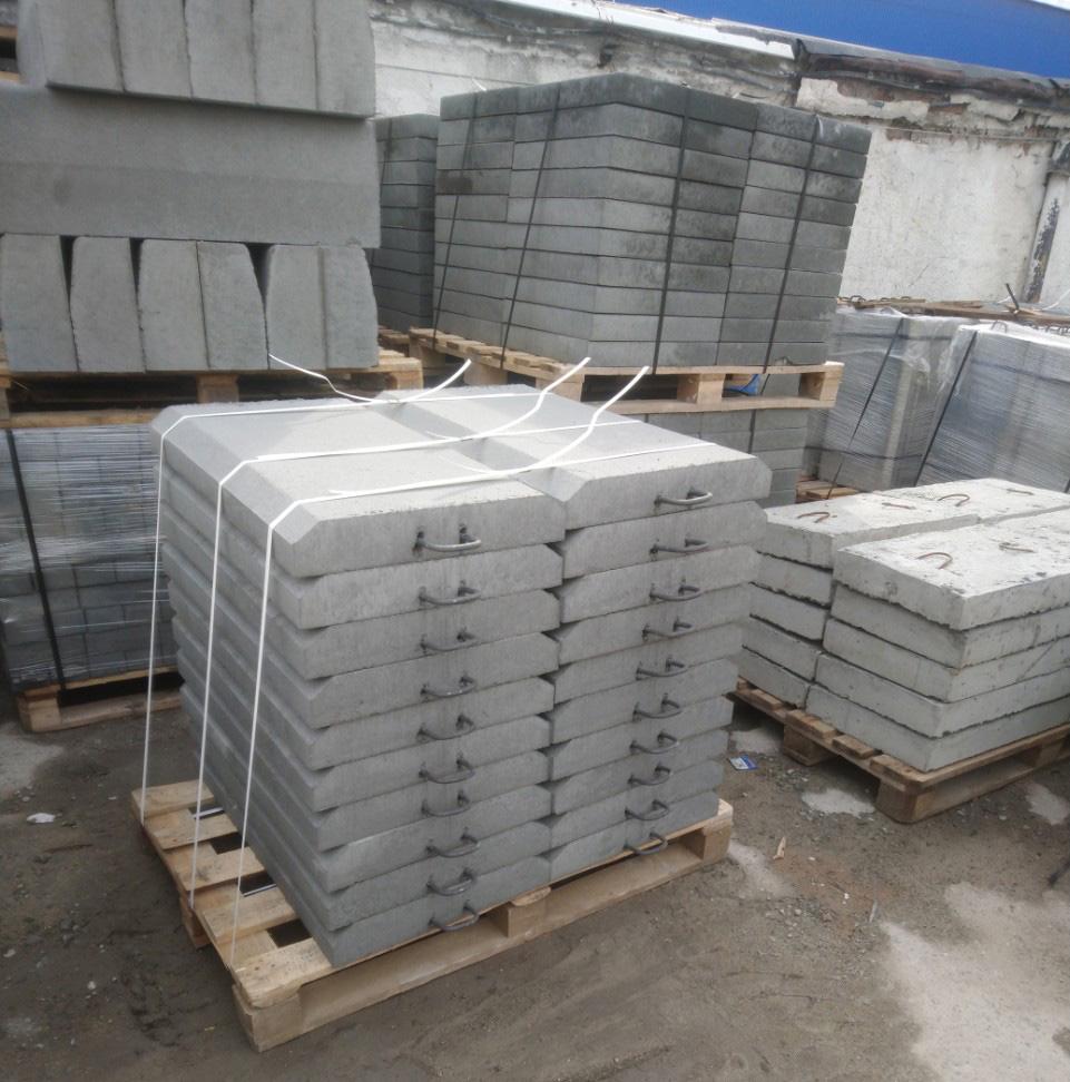 плиты и блоки укрепления